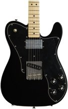 Fender '72 Telecaster Custom - Black with Maple Fingerboard