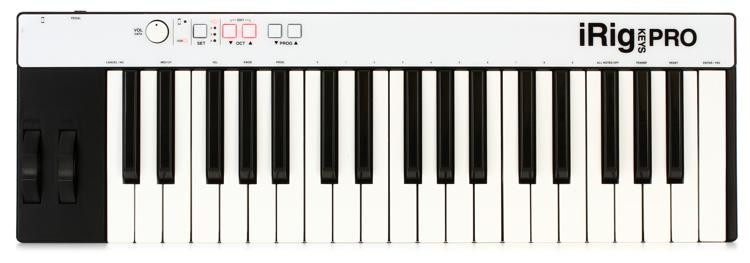 iRig Keys Pro 37-key Controller for iOS, Android, and Mac/PC
