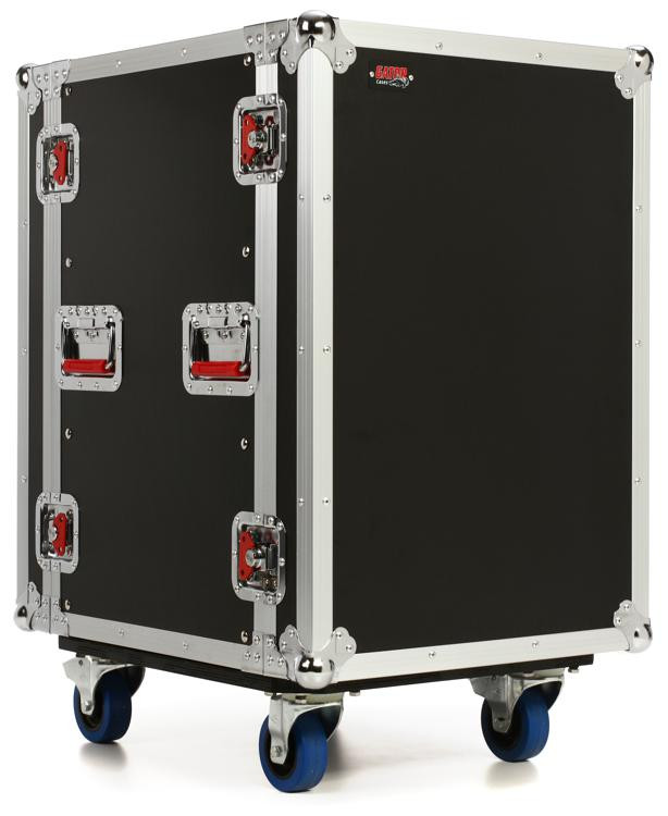 Gator G-TOUR 14U CAST - 14U, Standard Audio Road Rack Case w/ Casters image 1