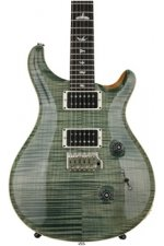 PRS Custom 24 Figured Top - Trampas Green with Pattern Regular Neck