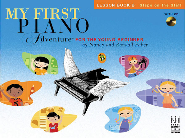fjh music piano adventures young beginner lesson book b young beginner lessons b sweetwater. Black Bedroom Furniture Sets. Home Design Ideas