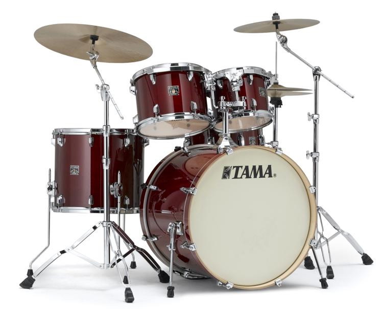 Tama Superstar Classic 5-piece Shell Pack - Cherry Wine Lacquer image 1