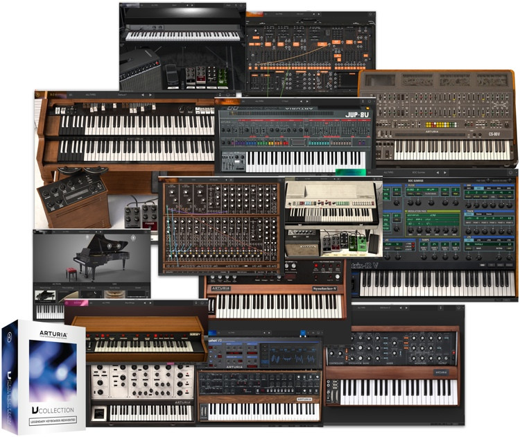 Arturia V Collection 5 Software Instrument Bundle (boxed) image 1