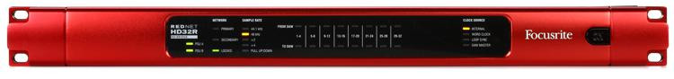 Focusrite RedNet HD32R Redundant Ethernet Networking image 1