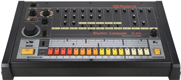 The original Roland TR-808.