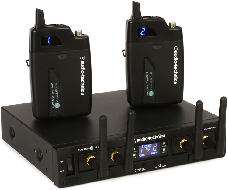 Audio-Technica System 10 Pro Digital Wireless - Dual Bodypack System image 1