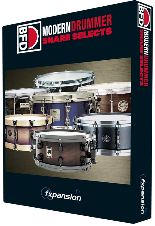 FXpansion BFD Modern Drummer Snare Selects Expansion Pack image 1