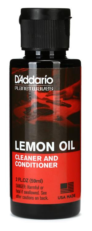 D\'Addario Planet Waves PW-LMN Lemon Oil Cleaner and Conditioner image 1