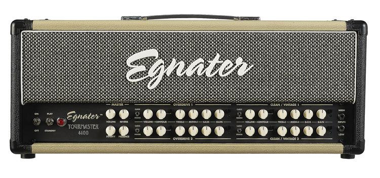 Egnater Tourmaster 4100 100-watt Tube Head image 1