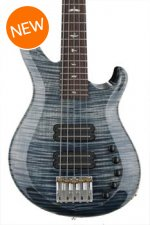 PRS Grainger 5-string Bass - Faded Whale Blue with Rosewood Fingerboard