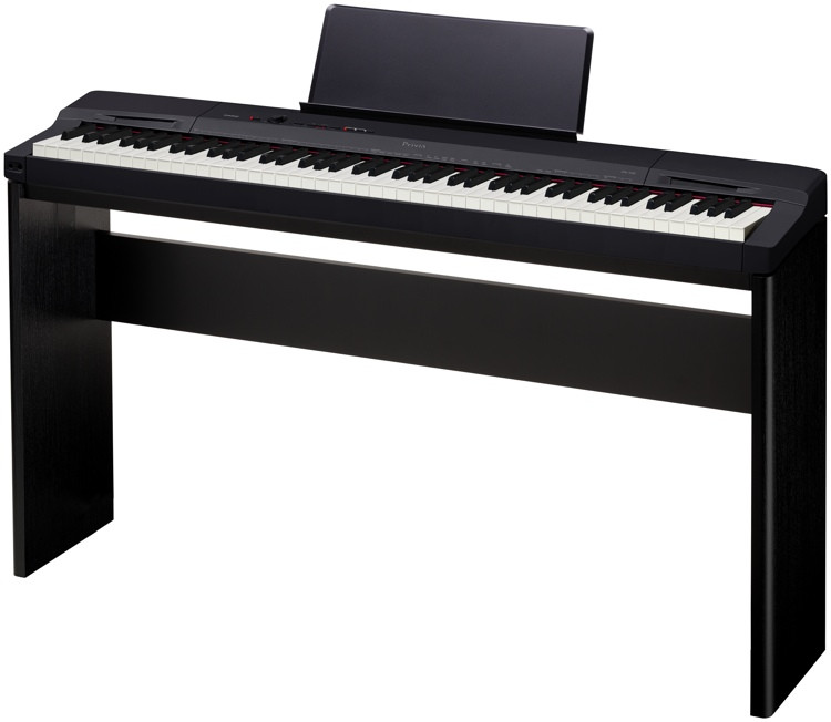 Casio Privia PX-160 Digital Piano & Stand Bundle - Black image 1