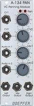 Doepfer A-134-1 Eurorack Voltage Controlled Panner/Crossfader Module