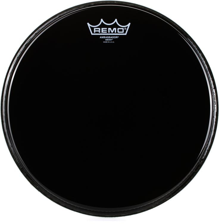 Remo Ebony Ambassador Drum Head - 12