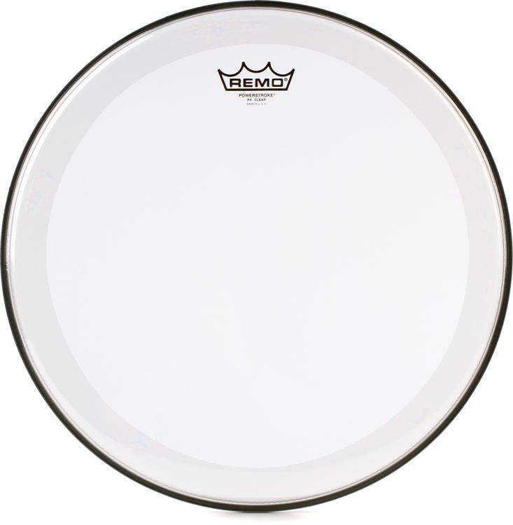 Remo Powerstroke 4 Clear Drum Head - 16