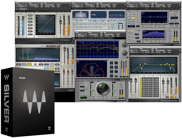 Waves Silver Plug-in Bundle image 1