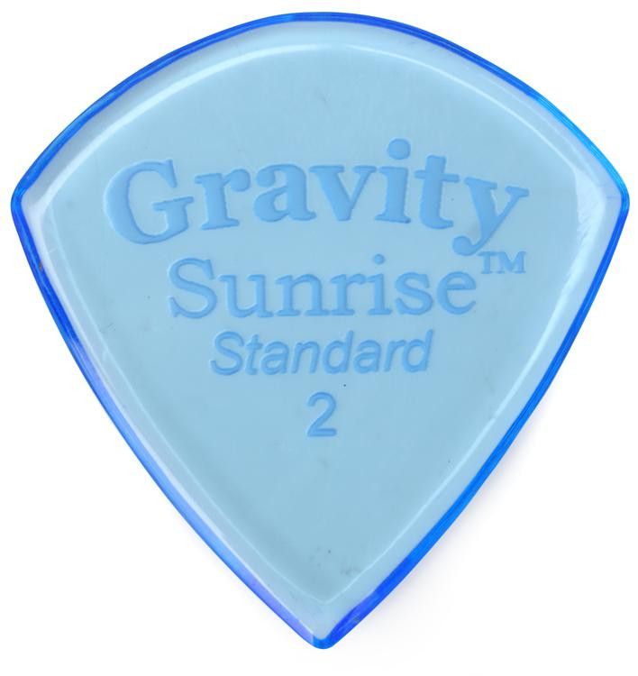 Gravity Picks Sunrise - Standard Size, 2mm, Polished image 1