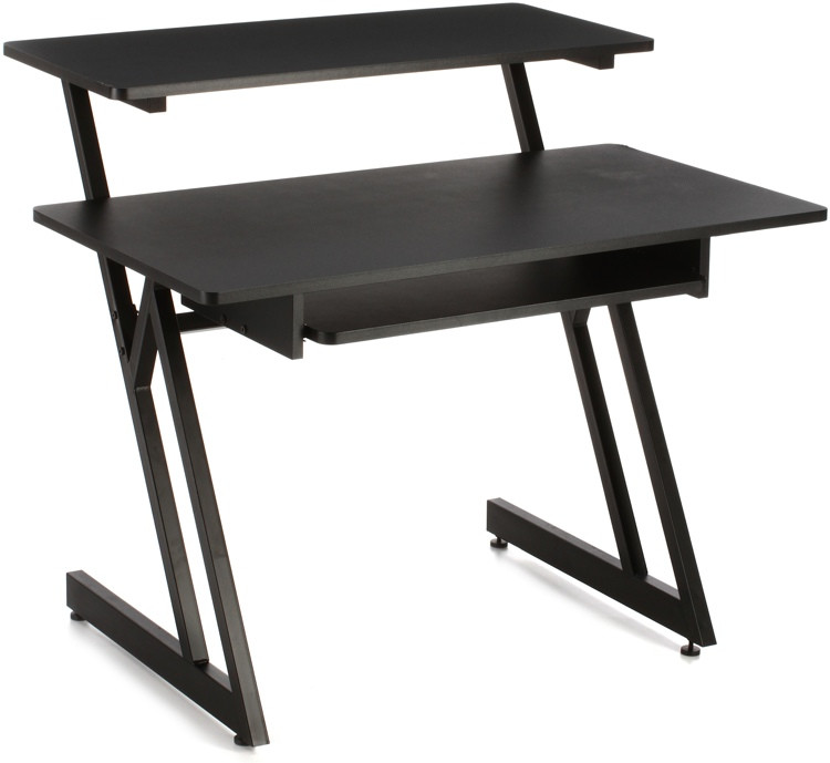 On-Stage Stands WS7500 Wooden Workstation - Black image 1