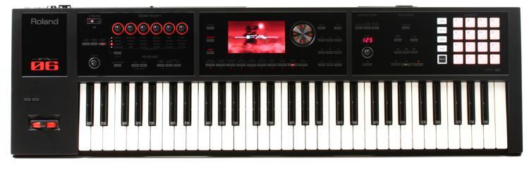roland fa 06 61 key music workstation sweetwater. Black Bedroom Furniture Sets. Home Design Ideas