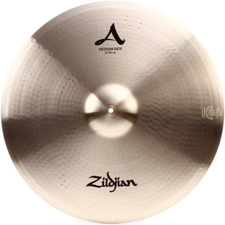 Zildjian A Series Medium Ride Cymbal - 24