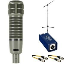 Electro-Voice RE20 with Stand, Cable, and Cloudlifter