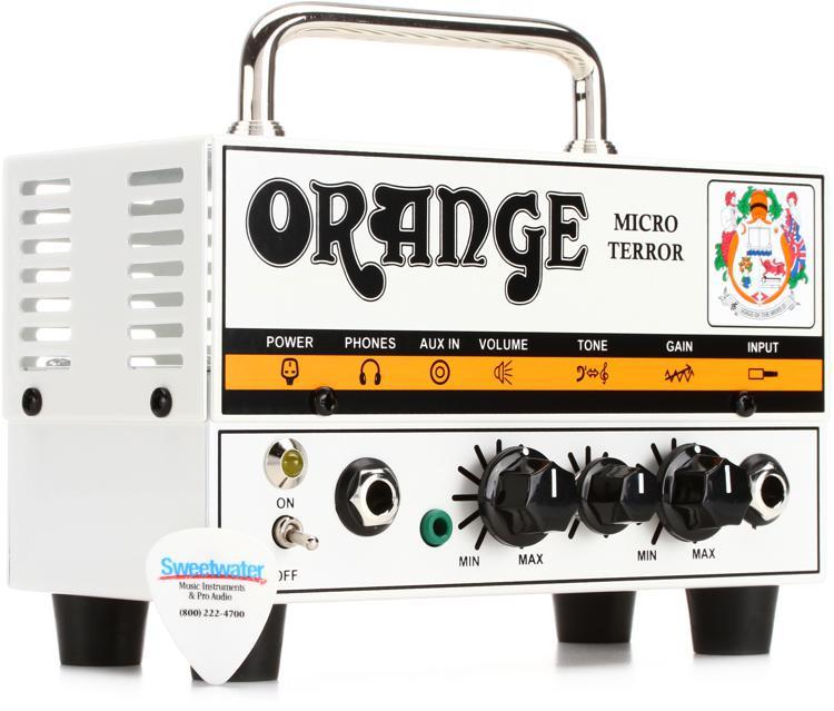 Orange Micro Terror 20-watt Head image 1