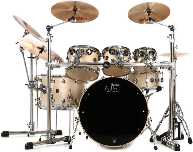 DW Performance Series 7-piece Shell Pack with Snare Drum - 24