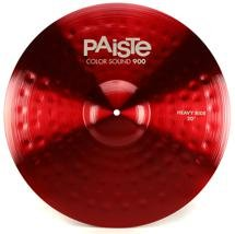 "Paiste 900 Series Colorsound Heavy Ride - 20"" - Red"