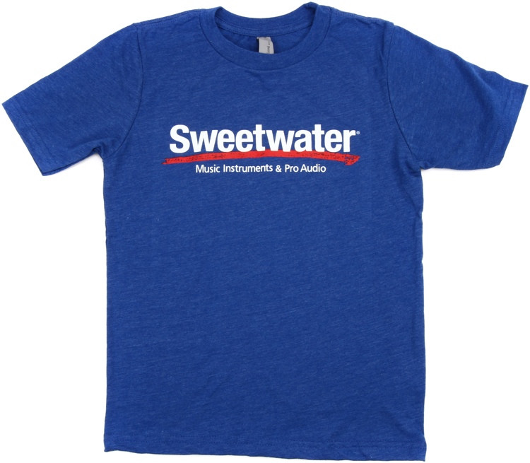 Sweetwater Logo T Shirt Royal Blue Youth Large