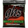 GHS BB20X Bright Bronze - 80/20 Bronze Extra Light Acoustic Guitar Strings