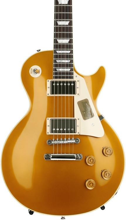 Gibson Custom Standard Historic 1957 Goldtop Les Paul - Antique Gold Gloss image 1