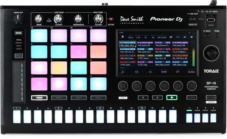 Pioneer DJ Toraiz SP-16 Sampling Workstation image 1