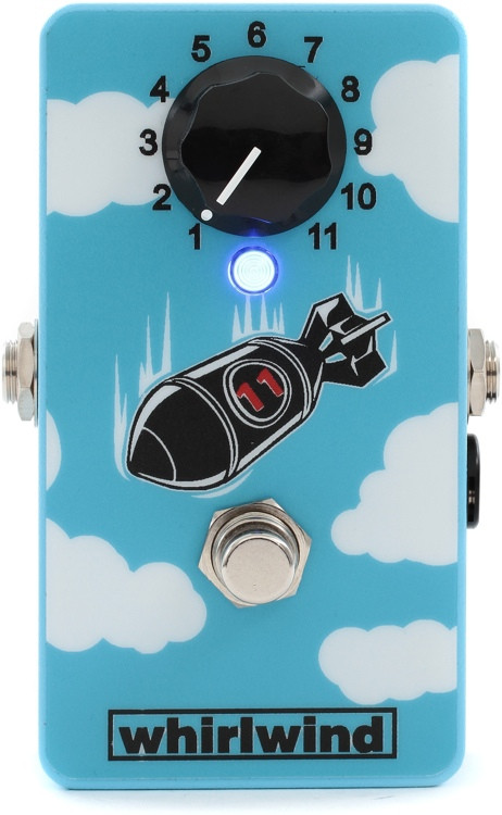 Whirlwind The Bomb 26dB Boost Pedal image 1