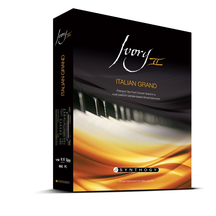 Synthogy Ivory II Italian Grand Upgrade from Version 1.7 (boxed) image 1