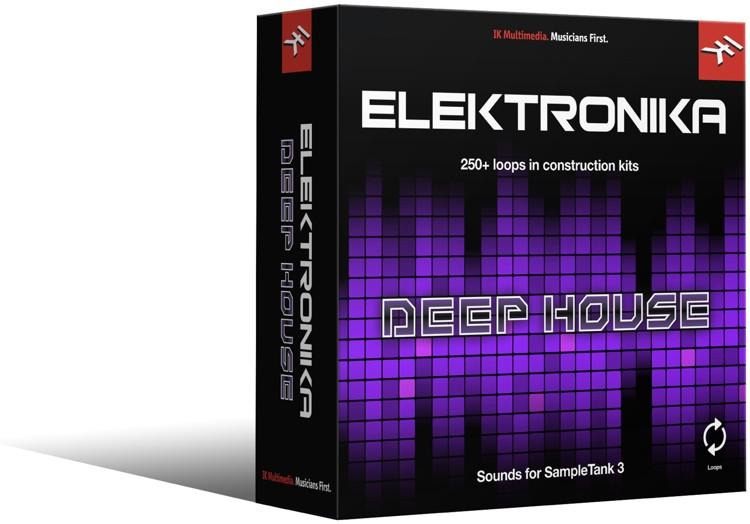 IK Multimedia Deep House SampleTank 3 Sound Library image 1