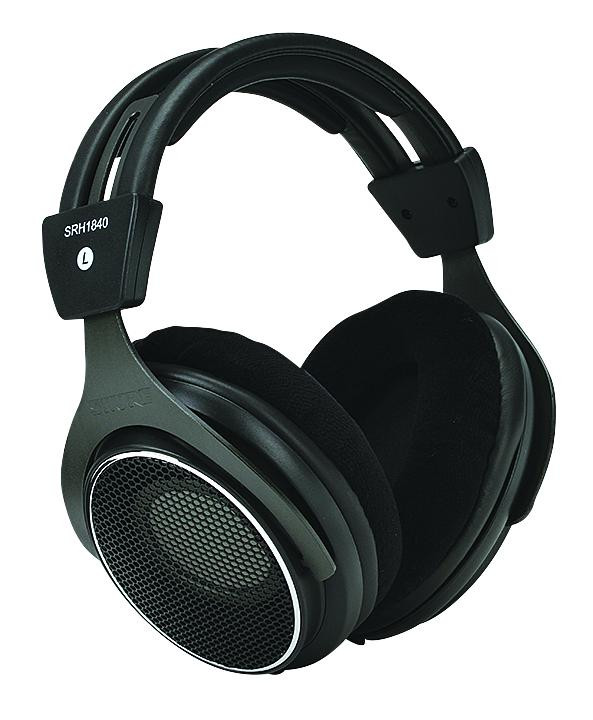 Shure SRH1840 Open-back Mastering and Studio Headphones image 1