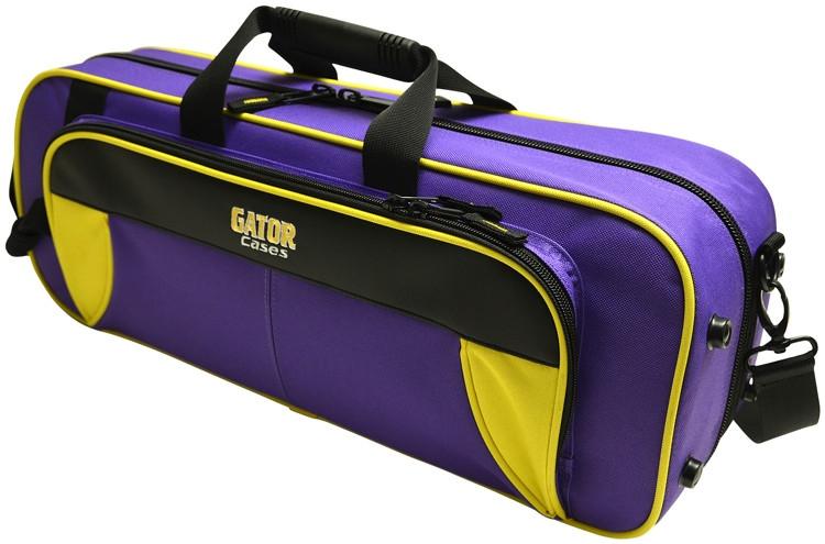 Gator GL-TRUMPET-YP - Lightweight Trumpet Case, Yellow & Purple image 1