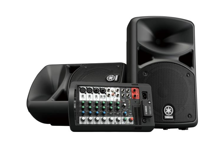 yamaha stagepas 400bt portable pa with bluetooth sweetwater. Black Bedroom Furniture Sets. Home Design Ideas