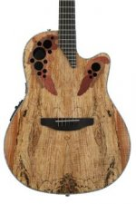 Ovation Elite Plus Celebrity - Spalted Maple