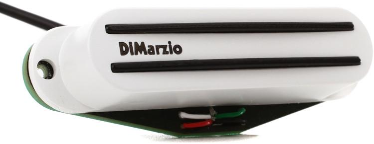 DiMarzio The Cruiser Bridge Single Coil Pickup - White image 1