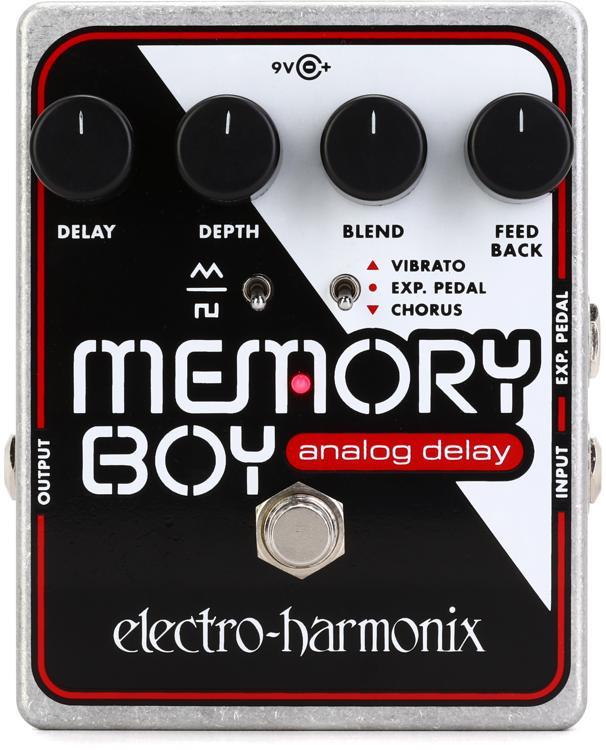 Electro-Harmonix Memory Boy Analog Delay Pedal with Chorus / Vibrato image 1