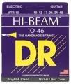 DR Strings MTR-10 Hi-Beam Nickel Plated Medium Electric Strings