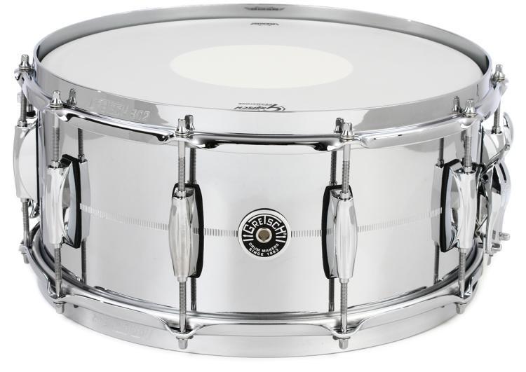 Gretsch Drums Brooklyn Steel Snare - 6.5