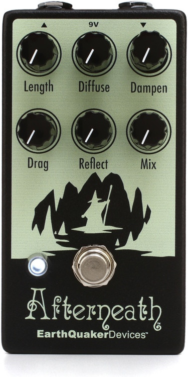 EarthQuaker Devices Afterneath V2 Reverb Pedal image 1
