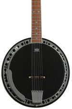 Epiphone Stagebird Banjo - Red Brown Mahogany