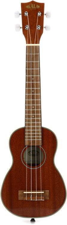 Kala KA-SLNG Gloss Mahogany Series Soprano Long-Neck Ukulele image 1
