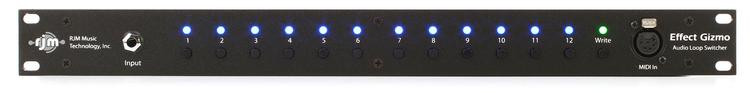 RJM Music Effect Gizmo Programmable True Bypass Loop Switcher image 1