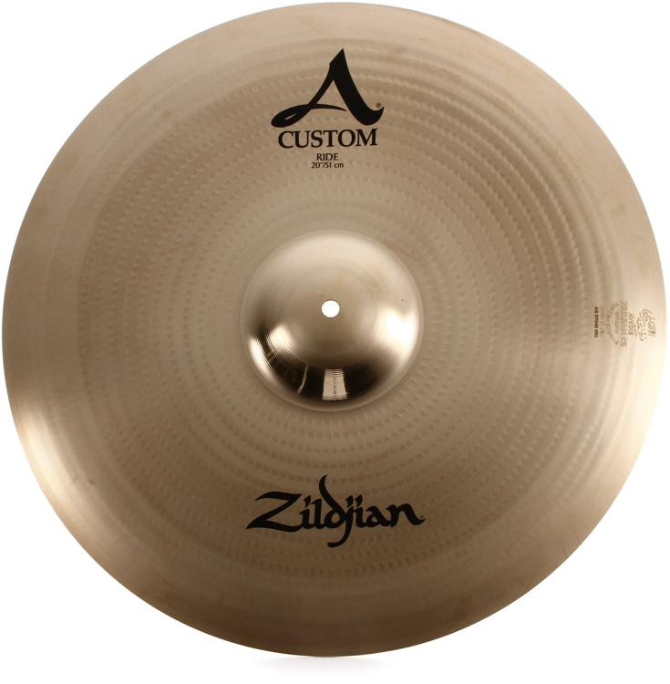 Zildjian A Custom Ride - Brilliant finish - 20
