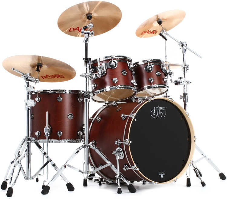 DW Performance Series 5-pc Shell Pack with Snare - 22