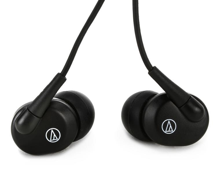 Audio-Technica EP3 Dynamic Earphones - Black image 1