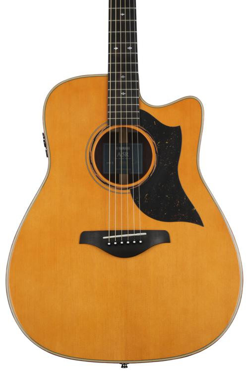Yamaha a5r are dreadnought cutaway vintage natural for Yamaha a5r are